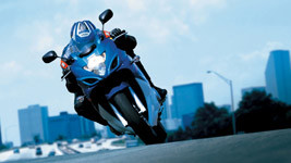 2008 Suzuki GSX 650F Action wallpaper small
