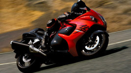 2008 Suzuki Hayabusa Speed wallpaper small
