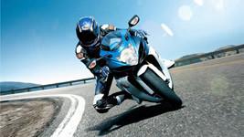 Suzuki Biker wallpaper small