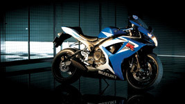 Suzuki GSX R750 Bike HD Wallpaper small
