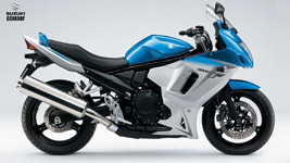 Suzuki GSX650 F HD Wallpaper small