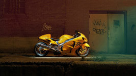 Suzuki Hayabusa HD Wallpaper small