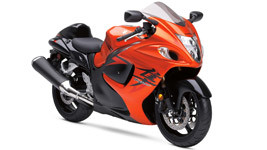 Suzuki Hayabusa Orange Bike hd wallpaper small