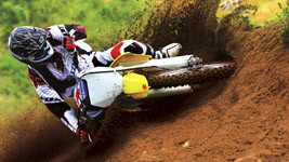 Suzuki Motocross Bike Race HD Wallpaper small