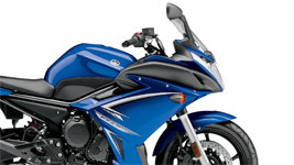 Yamaha FZ6R Blue Wallpaper small