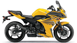 Yamaha FZ6R Yellow wallpaper small