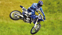 Yamaha Motocross Bike Wallpaper small