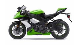 2009 Kawasaki Ninja ZX 10R Green small