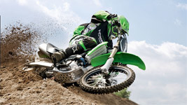 Kawasaki Motocross green small