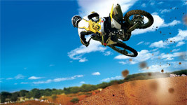 Motocross Stunt Wallpaper