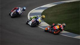 Racing Moterbikes Wallpaper
