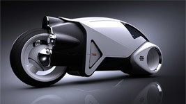 Tron MotorBike concept wallpapers