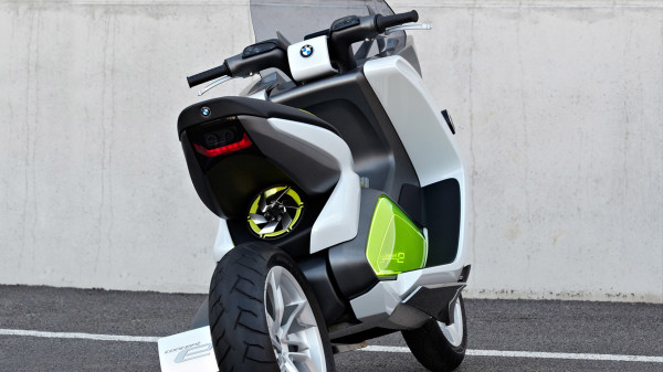 BMW Concept e Scooter 2013