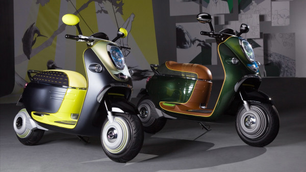 BMW Mini Scooter E Concept