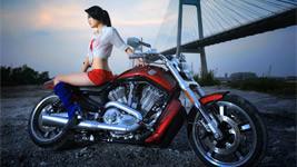 Harley Davidson Sexy Girls
